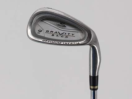 Cobra Gravity Back Single Iron 9 Iron Stock Steel Shaft Steel Stiff Right Handed 36.5in