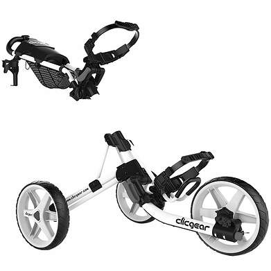 Brand New Clicgear Model 4.0 Push and Pull Cart White