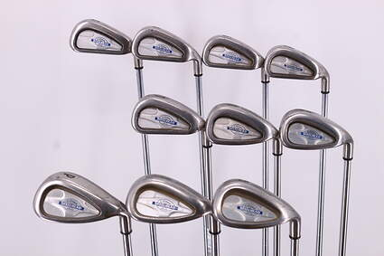 Callaway X-14 Iron Set 3-PW GW SW Callaway Stock Steel Steel Uniflex Right Handed 37.75in