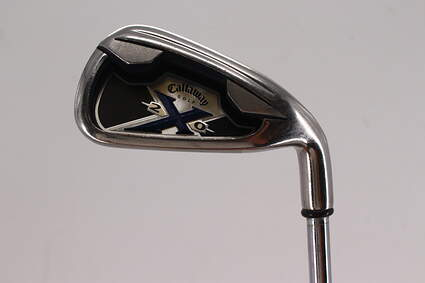 Callaway X-20 Single Iron 4 Iron Callaway Stock Steel Steel Uniflex Right Handed 38.5in