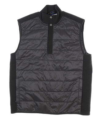 New Mens Ralph Lauren Quilted Hybrid Vest Large L Gray MSRP $175