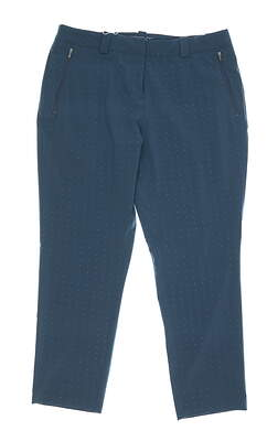 New Womens Nike Golf Pants 10 Blue MSRP $85 51858