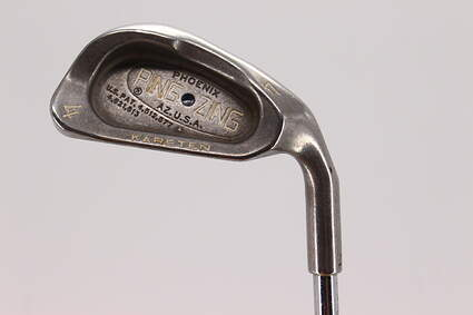 Ping Zing Single Iron 4 Iron 24° Ping KT-M Steel Stiff Right Handed 38.5in