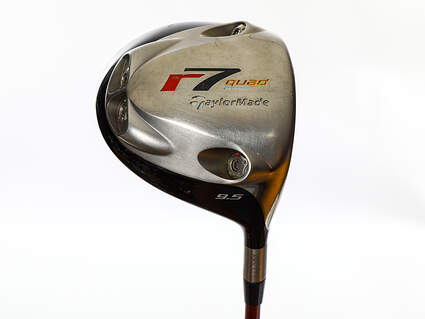Tour Issue TaylorMade R7 Quad TP Driver 9.5° Grafalloy ProLite Graphite X-Stiff Right Handed 45.25in
