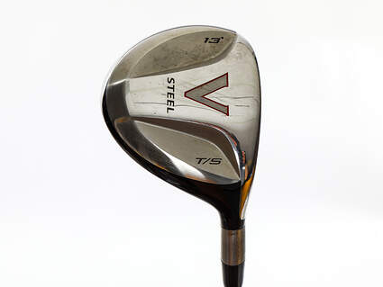 Tour Issue TaylorMade V Steel Fairway Wood 3+ Wood 13° Grafalloy ProLite Graphite X-Stiff Right Handed 43.5in