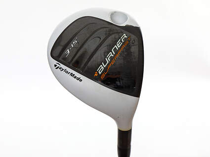 Tour Issue TaylorMade Burner Superfast 2.0 TP Fairway Wood 3 Wood 3W 15° Fujikura Motore Speeder 7.0 Graphite Stiff Right Handed 43.25in