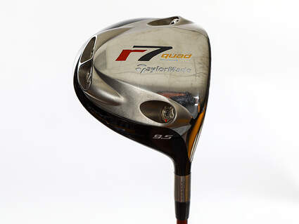 Tour Issue TaylorMade R7 Quad Driver 9.5° Grafalloy ProLite Graphite X-Stiff Right Handed 45.25in