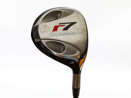 Tour Issue TaylorMade R7 TP Fairway Wood 3 Wood 3W 15° TM Fujikura Reax 85 TP Graphite X-Stiff Right Handed 43.25in