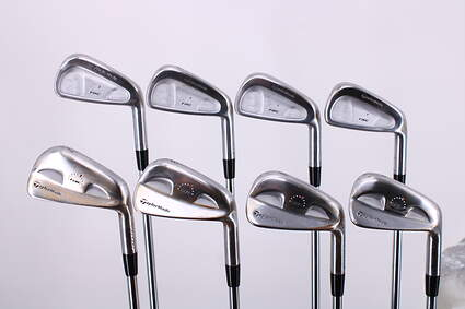 Tour Issue Played by Corey Pavin TaylorMade Rac TP Combo Iron Set 3-PW Steel Stiff Right Handed