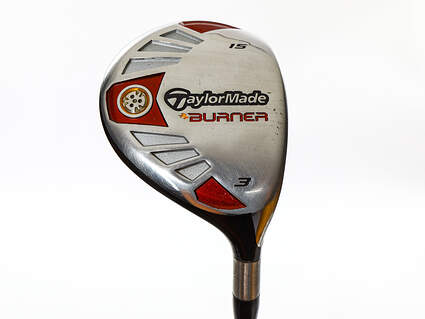 Tour Issue TaylorMade Burner TP Fairway Wood 3 Wood 3W 15° TM Fujikura Rombax Z 75 Graphite Stiff Right Handed 43.25in