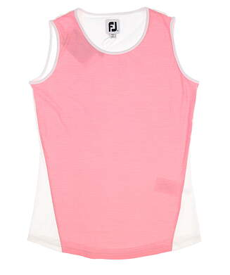 New Womens Footjoy Space Dye Tank X-Small XS Pink MSRP $72 27453
