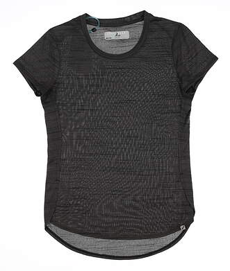 New Womens Level Wear Verve Luxe T-Shirt X-Small XS Gray MSRP $37 HY01L