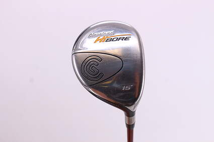 Cleveland Hibore Fairway Wood 3 Wood 3W 15° Grafalloy ProLite Graphite Stiff Right Handed 43.25in