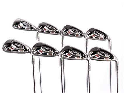 Ping G15 Iron Set 3-PW Ping AWT Steel Regular Right Handed Green Dot 38.25in
