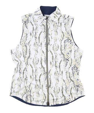 New Womens Greg Norman Vest Medium M Multi MSRP $70 G2S7J260