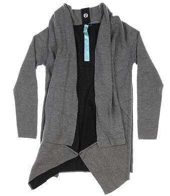 New Womens Level Wear Jayden Cardigan Small S Pebble MSRP $100 VP00L