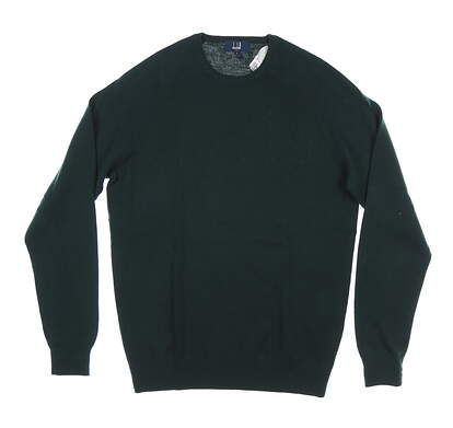 New Mens Dunhill Sweater Small S Green MSRP $120