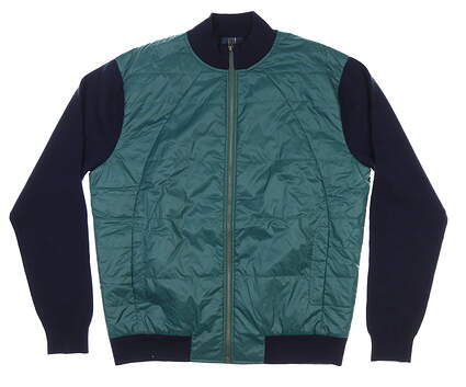 New Mens Dunhill Golf Jacket X-Large XL Green MSRP $295
