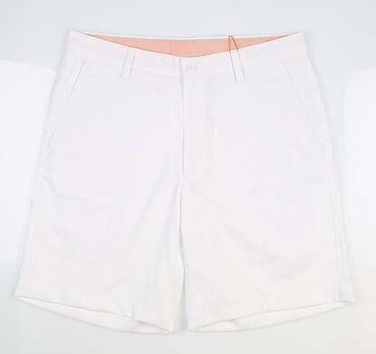 New Mens Fennec Tech Golf Shorts 34 White MSRP $85 000F600