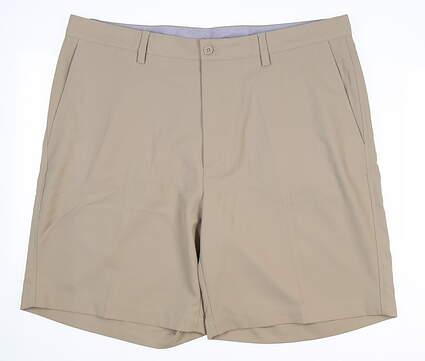 New Mens Fennec Tech Golf Shorts 42 Khaki MSRP $85 000F600