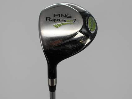 Ping Rapture Fairway Wood 7 Wood 7W 20° Ping TFC 909F Graphite Stiff Left Handed 42.0in