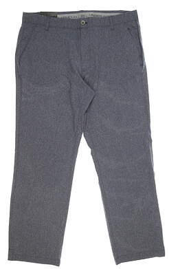 New Mens Under Armour Match Play Golf Pants 38x30 Gray MSRP $80