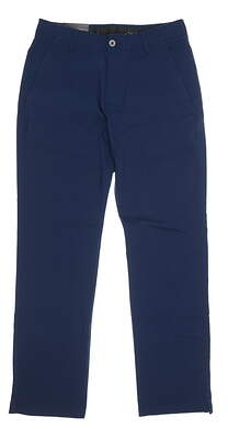 New Mens Under Armour Showdown Golf Pants 32x32 Navy Blue MSRP $80