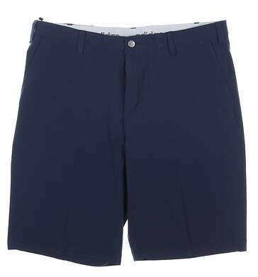 New Mens Adidas Golf Shorts 40 Navy Blue MSRP $60