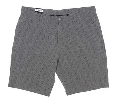New Mens Footjoy Woven Tonal Box Golf Shorts 40 Gray MSRP $88 23912