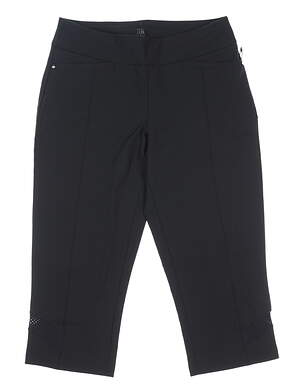 New Womens Tail Pull On Capris 4 Black MSRP $95 GR4487