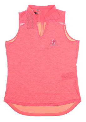 New W/ Logo Womens Under Armour Tank Top Medium M Pink MSRP $75
