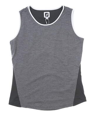 New Womens Footjoy Tank Top X-Large XL Gray MSRP $72