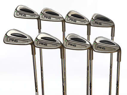 Ping S59 Iron Set 3-PW Ping Z-Z65 Steel Stiff Right Handed Green Dot 38.0in