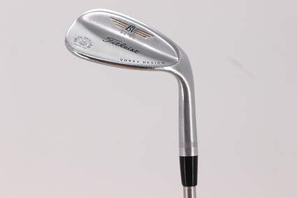 Titleist Vokey Spin Milled SM4 Chrome Wedge Gap GW 52° 8 Deg Bounce KBS Tour C-Taper 125 Steel Stiff Right Handed 35.75in