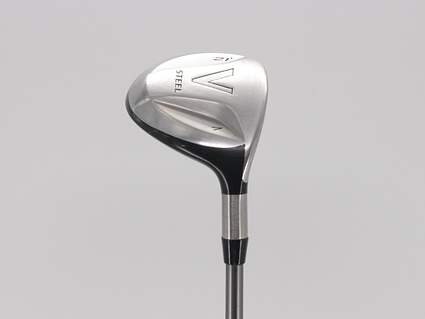 TaylorMade V Steel Fairway Wood 7 Wood 7W 21° Mitsubishi Bassara V73 Graphite Stiff Right Handed 42.0in