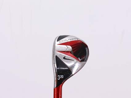 Nike VR S Covert Hybrid 3 Hybrid 20° Mitsubishi Kuro Kage Red 70 Graphite Stiff Left Handed 40.5in
