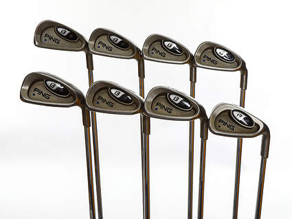 Ping i3 + Iron Set 3-PW Ping AWT Steel Stiff Right Handed Blue Dot 38.5in