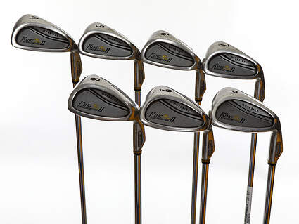 Cobra King Cobra 2 Oversize Iron Set 4-PW Apollo Stepless Steel Steel Regular Right Handed 37.75in