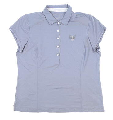 New W/ Logo Womens Zero Restriction Holly Polo X-Large XL Blue MSRP $89 0722L