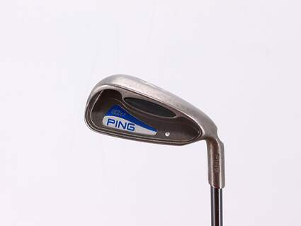 Ping G2 EZ Single Iron 4 Iron Ping TFC 100I Graphite Senior Right Handed Silver Dot 38.75in