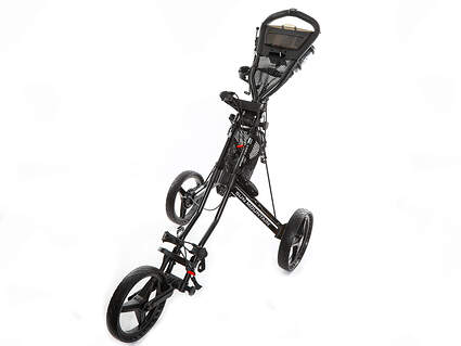 New Sun Mountain Speed Cart GX Push and Pull Cart Black Ships Today!