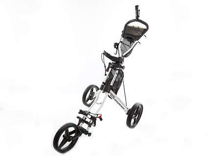 New Sun Mountain Speed Cart GX Push and Pull Cart Push White/Black Ships Today!