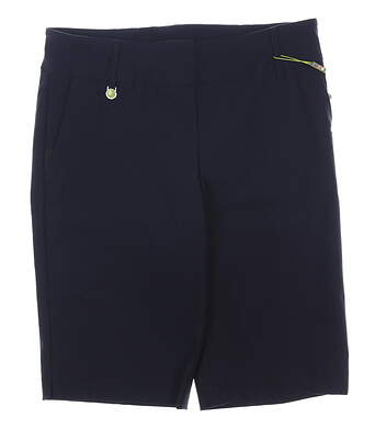 New Womens Swing Control Shorts 14 Navy MSRP $125 KS1102