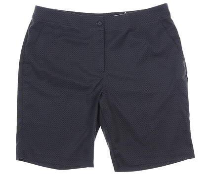 New Womens Greg Norman Golf Shorts 6 Black MSRP $59 G2S8H282