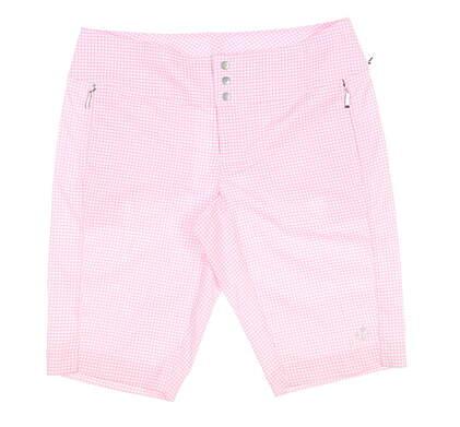 New Womens Jo Fit Golf Shorts 6 Pink MSRP $85 GB507-BLC