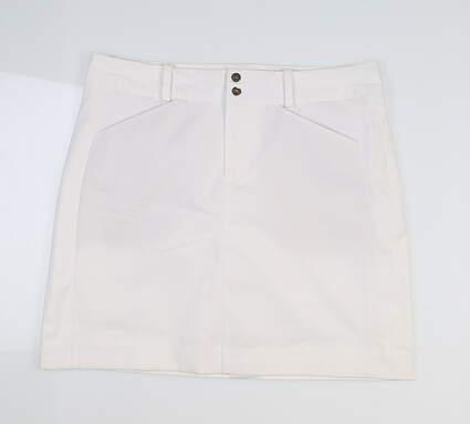 New Womens Ralph Lauren Golf Skort 12 White MSRP $125