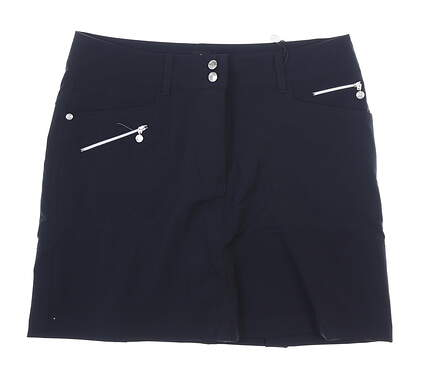 New Womens Daily Sports Miracle Skort 10 Black MSRP $110 001/212