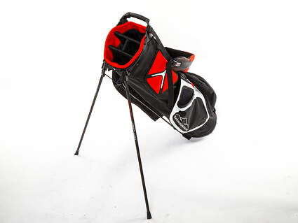 Brand New Sun Mountain 3.5 LS Black/White/Red Stand Bag