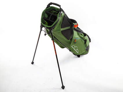 Brand New Sun Mountain 4 Plus Cactus/Black/Inferno Stand Bag