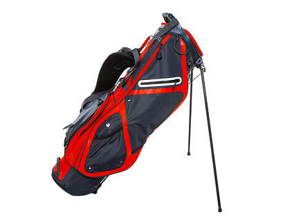 Brand New Sun Mountain 3.5 LS Steel/Red Stand Bag